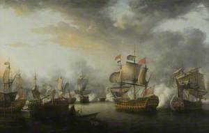 The Close of the Battle of the Saints