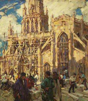 The Rebuilding of St Mary Redcliffe