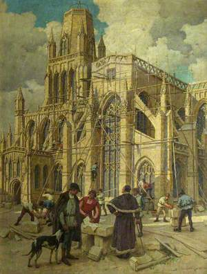 The Rebuilding of St Mary Redcliffe by William Canynges in 1452