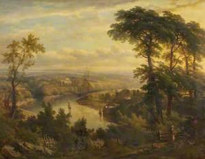 The Avon from Shirehampton Park