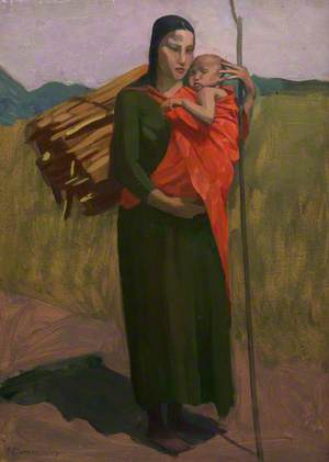 Irish Peasant Woman