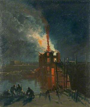 Bristol Riots: Warehouse from Wapping