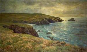 Sea Pinks, Porth Joke, Cornwall, May 1898