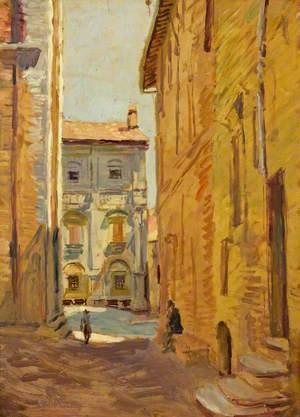 A Street in Pienza