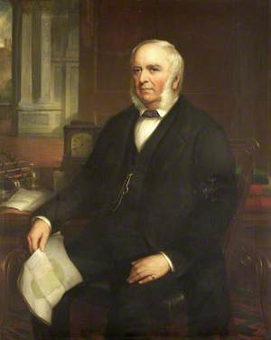 William Claxton, Master (1836), Treasurer (1841–1873)