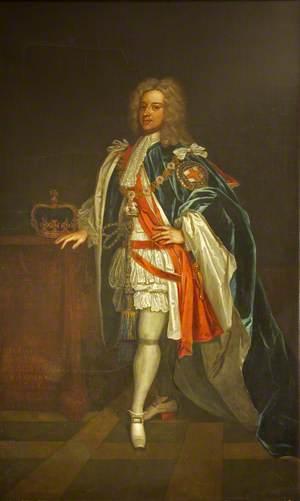 George II (1683–1760), in Garter Robes, when Prince of Wales