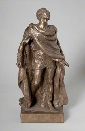 Laurence Olivier (1907–1989), as Oedipus in 'Oedipus Rex'