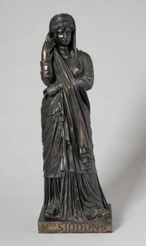 Sarah Siddons (1755–1831), as Melpomene, the Tragic Muse