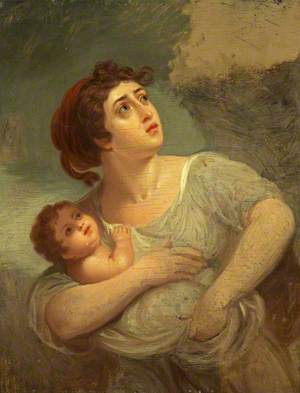 Dorothy Jordan (1761–1816), as Cora in 'Pizarro'