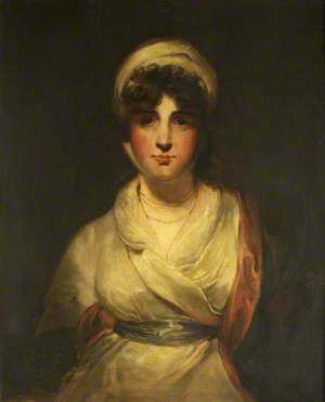 Sarah Siddons (possibly as Mrs Haller) in 'The Stranger'