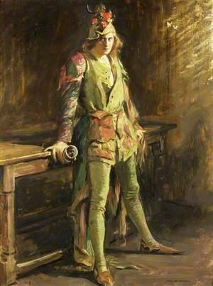 Herbert Beerbohm Tree as Gringoire in 'The Ballad Monger'