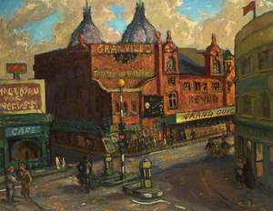 The Granville Theatre, Walham Green, London