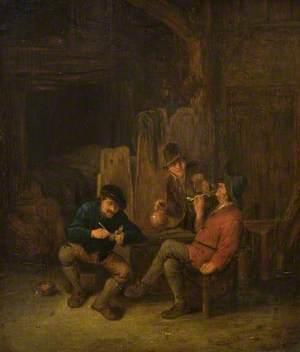 Peasants Smoking