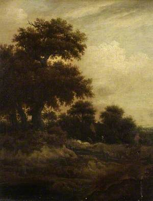 Landscape with Sportsmen