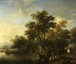 Landscape with a Sporting Party