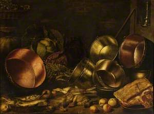 Kitchen Utensils, Meat and Vegetables