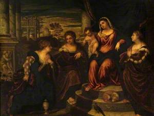 Virgin and Child with Saint Catherine, Mary Magdalene and Saint Barbara