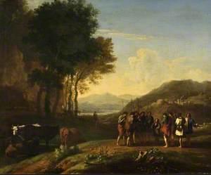 Landscape with Joseph and His Brethren