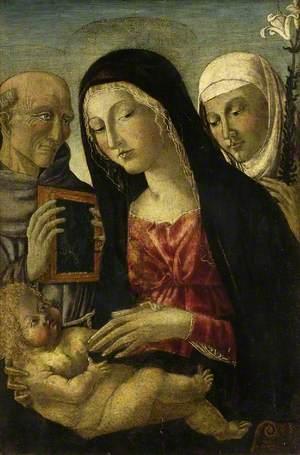 Virgin and Child with Saint Bernardino and Saint Catherine of Siena