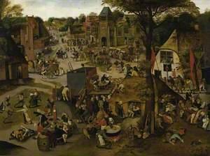 Village Festival in Honour of Saint Hubert and Saint Anthony