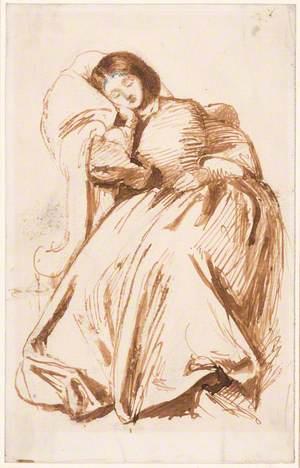 Elizabeth Siddal in a Chair