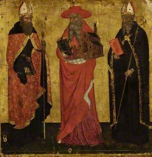 Saint Augustine, Saint Jerome and Saint Benedict