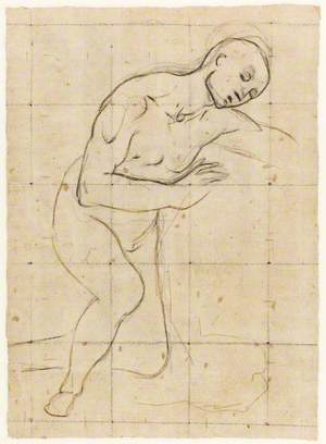Study for the Figure of the Virgin in a Nativity