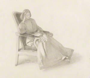 Elizabeth Siddal Reading