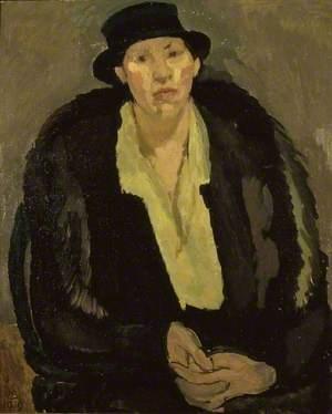 Portrait of Mrs M.