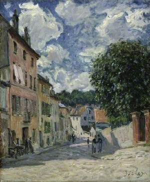 A Street, Possibly in Port-Marly