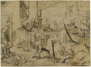 Christ at the House of Simon the Pharisee