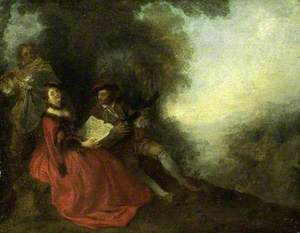 Music Party in a Landscape