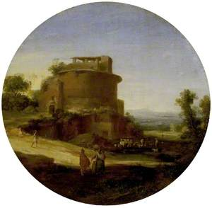 Classical Landscape with Ruins