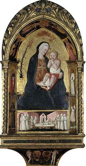 Tabernacle: The Virgin of Humility, with a Complete Cycle of Sin and Redemption