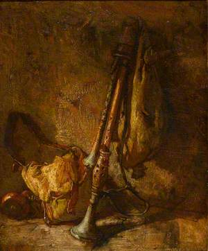 Still Life with a Cornemuse
