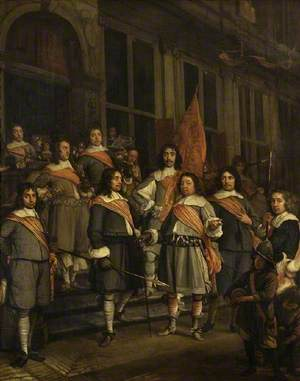 A Company of the Hague Arquebusiers
