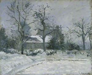 Piette's House at Montfoucault: Snow Effect