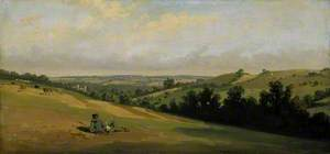 Young Man Reclining on the Downs