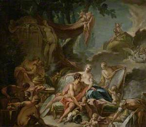 The Loves of the Gods: Mars and Venus