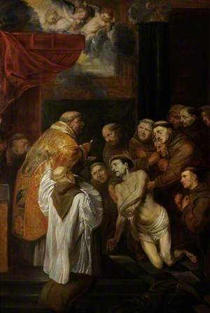 The Last Communion of St Francis of Assisi