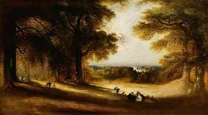 Landscape: View in Richmond Park