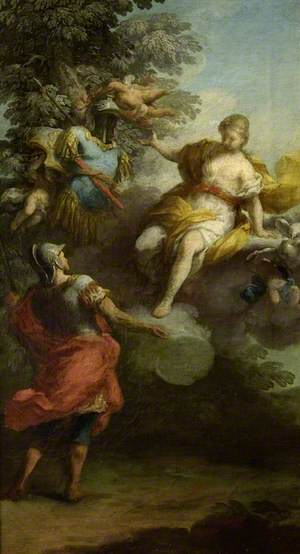 Venus Giving Arms to Aeneas