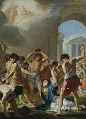 The Martyrdom of St Stephen