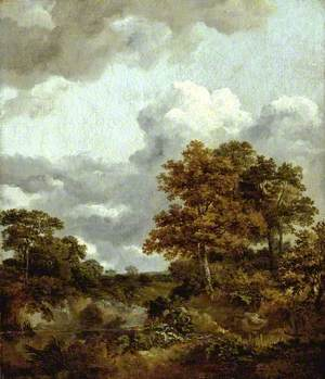 Landscape with a Pool