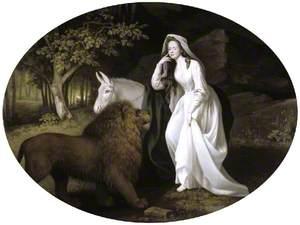 Isabella Salstonstall as Una in Spenser's 'Faerie Queene'