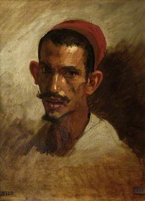 Study for the Head of a Young Arab