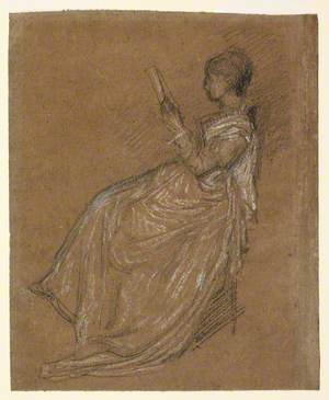 Seated Lady, Reading