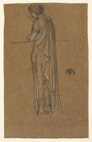 Study of a Standing Woman, Seen from Behind