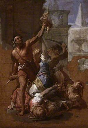 Study for 'The Massacre of the Innocents'