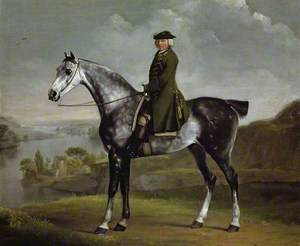 Joseph Smyth Esquire, Lieutenant of Whittlebury Forest, Northamptonshire, on a Dapple Grey Horse